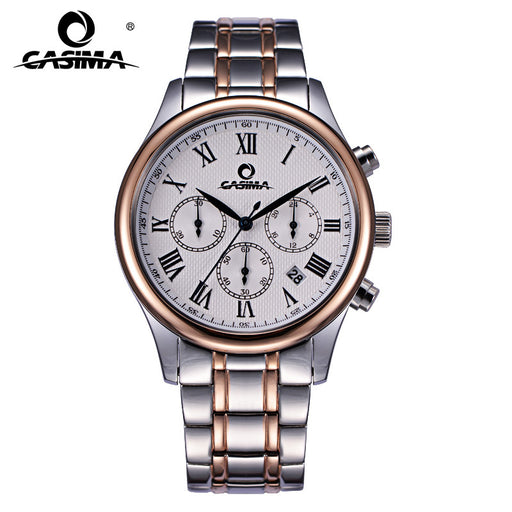 2017 fashion charm men's dress leisure quartz wrist watch waterproof luxury brand watches men CASIMA 5118