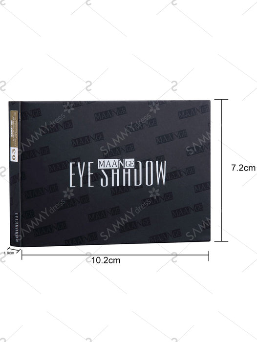 9 Colors Eyeshadow Palette with Brush - #03