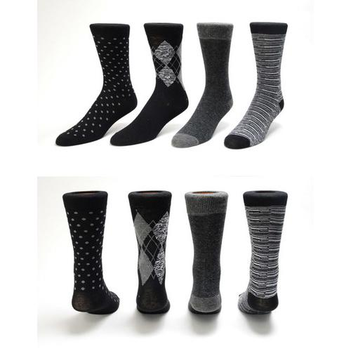 Mens Print Dress Socks - Size 10-13