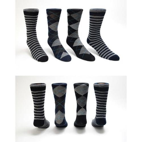 Mens Assorted Dress Socks - Size 10-13