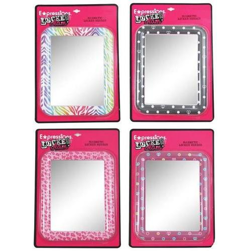 Expressions Rectangular Magnetic Locker Mirrors