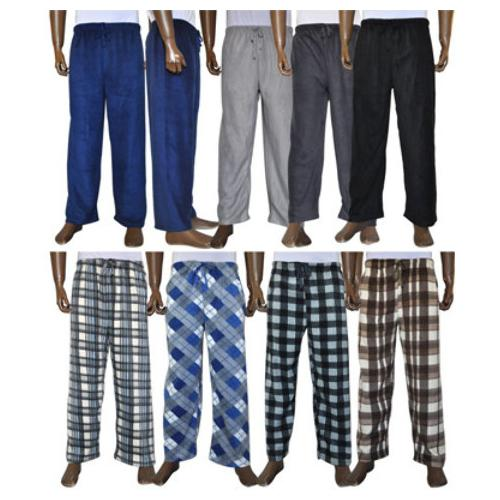 Men's Fleece Pajama Pants