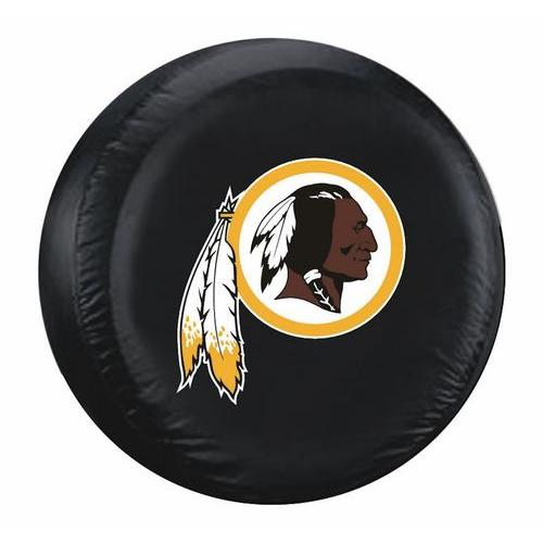 Washington Redskins Black Tire Cover - Standard Size