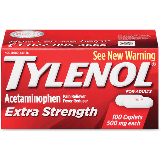 Johnson&Johnson Tylenol Extra Strength Caplets