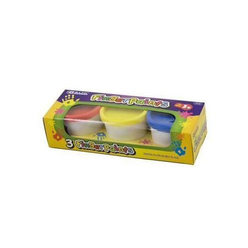 BAZIC Assorted Color 80ml Finger Paint (3/Pack)