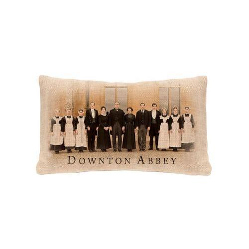"20"" Downton Abbey Cast British Decorative Rectangular Throw Pillow"