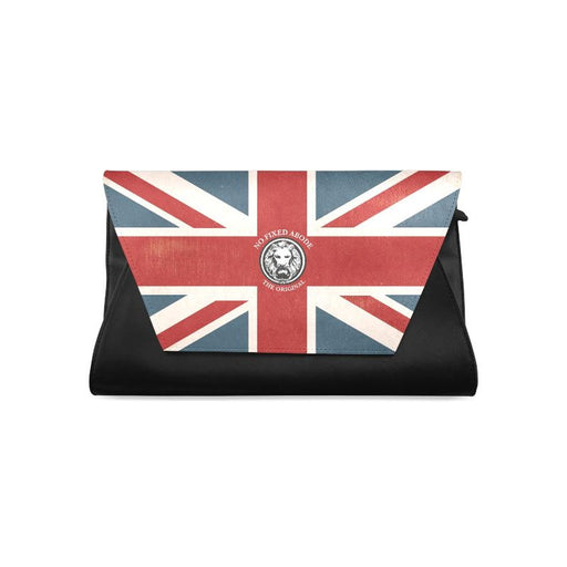 NFA The Original Union Jack Black Women's Clutch