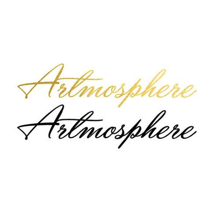2 PACK Artmosphere Metallic Temporary Tattoo