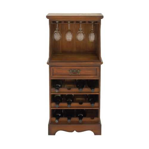 Elegant and Classic Wooden Wine Rack