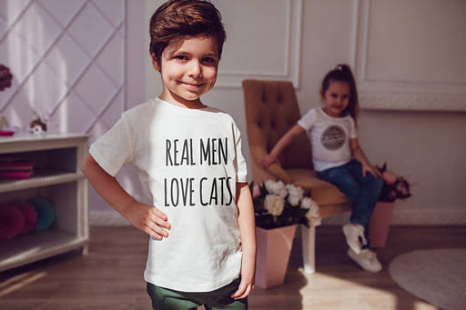 Real Men Love Cats Kids Shirts Spocket App