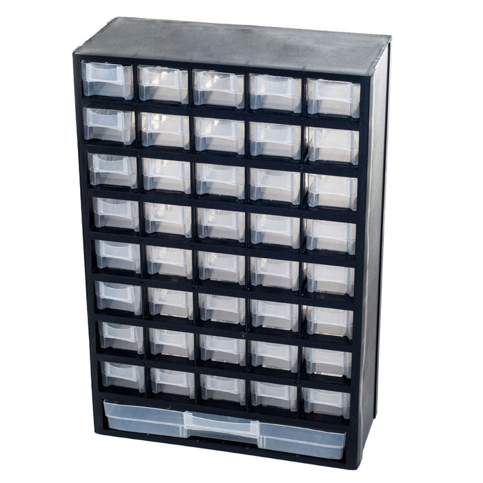 41 Compartment Hardware Storage Box by Stalwart
