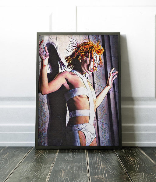 Fifth Element Movie Poster Art Canvas Print Wall Decor Canvas Cinema Poster Print Designer Art Painting Wall Art Home Gift