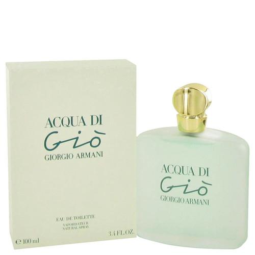 ACQUA DI GIO by Giorgio Armani Eau De Toilette Spray 3.3 oz (Women)