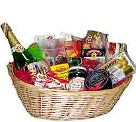 Foods of Spain - Spanish Holiday Gift Basket (Cesta de Navidad)