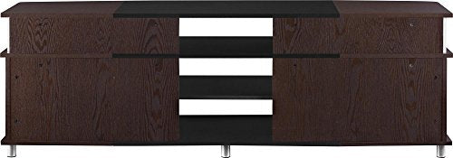 "Ameriwood Home Carson TV Stand for TVs up to 70"" Wide (Cherry)"