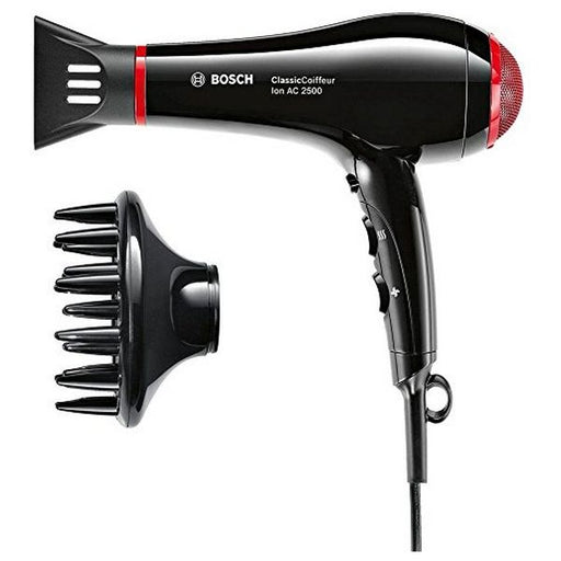 Hairdryer BOSCH PHD7962DI ClassicCoiffeur 2500W Black Red