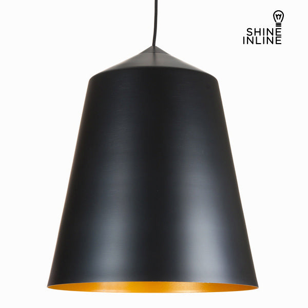 Black glass lamp by Shine Inline