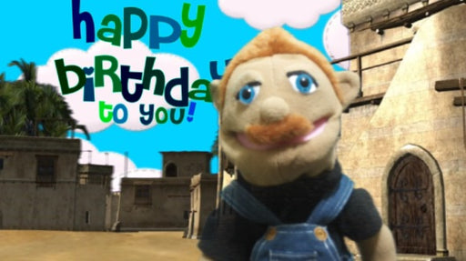 I will record any animated message with my puppet, for that special person