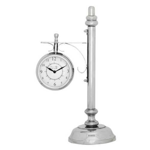 43483 Alluring Metal Table Clock