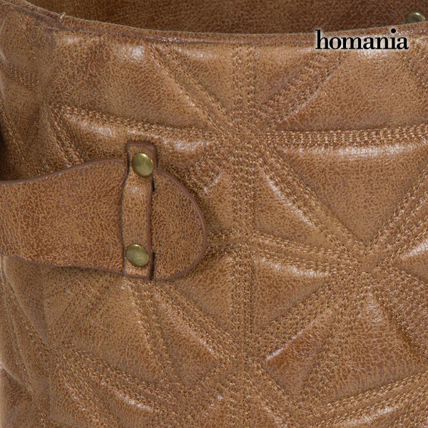 Brown bin engraved by Homania