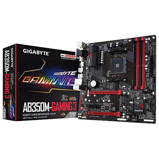 Gaming Motherboard Gigabyte GA-AB350M Gaming 3 mATX AM4