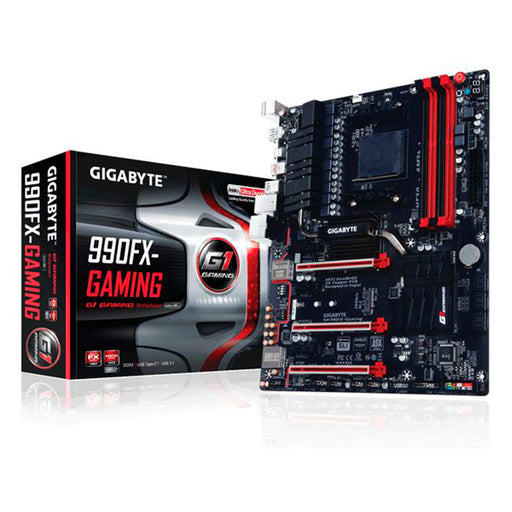 Gaming Motherboard Gigabyte GA-990FX ATX AM3+