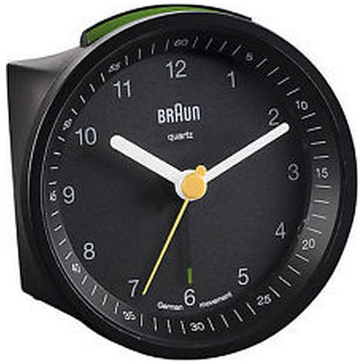 Analogue Alarm Clock Braun BNC-007-BKBK Black
