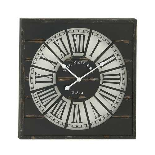 52134 Stunning Wood Wall Clock