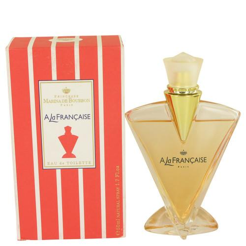 A La Francaise by Marina De Bourbon Eau De Toilette Spray 1.7 oz (Women)