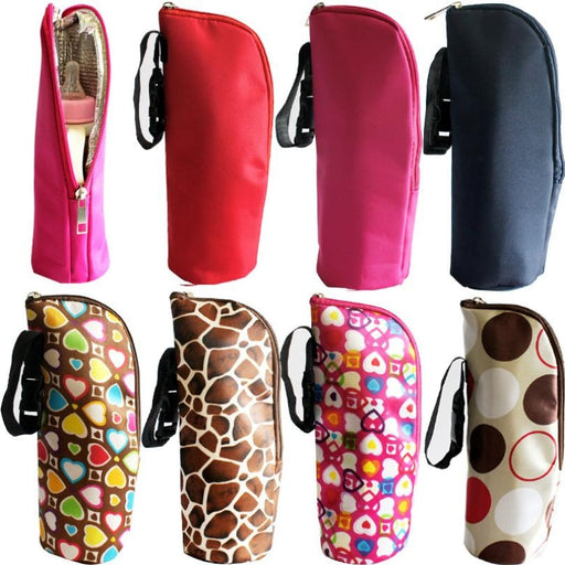 Amazing 1PC Baby Thermal Feeding Bottle Warmers Bag Mummy Insulation Tote Bag Hang Stroller Hot