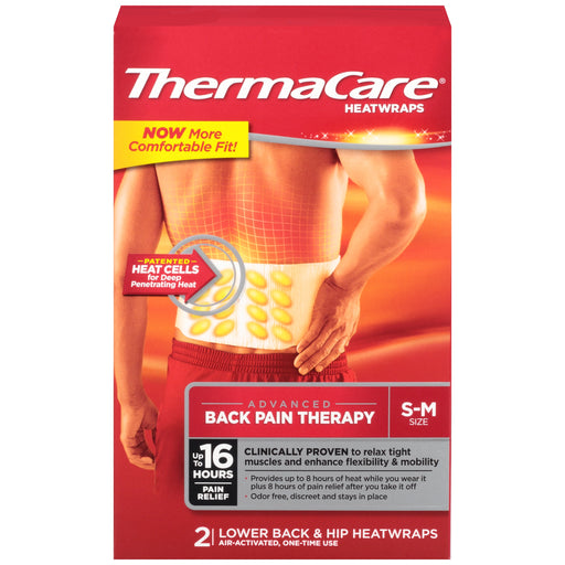 Thermacare 8 Hours Heatwraps, 2 ct