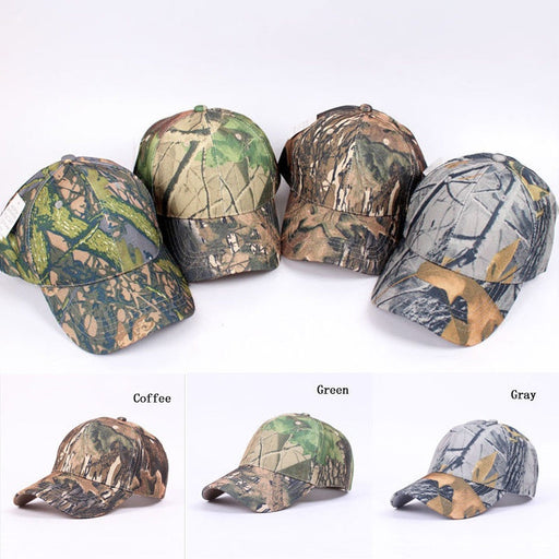 Fashion Mens Military Adjustable Baseball Caps Camo Hunting Fishing Army Hats
