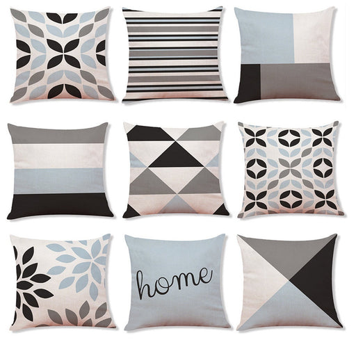 Home Decor Cushion Cover Simple Geometric Throw Pillowcase Pillow Covers I You Love