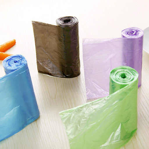 5rolls(30pcs/roll) High Quality Kitchen Garbage Bags Thicken Rubbish Storage Trash Plastic Bag Household Cleaning Tools 45x50cm