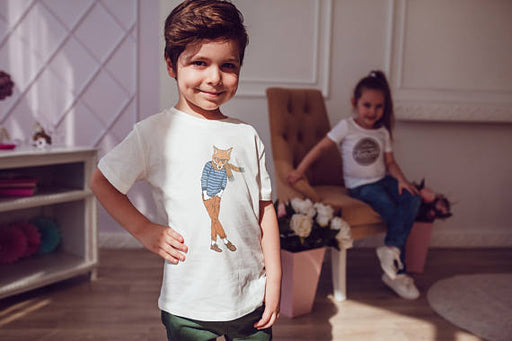 Fox Boy Kids Shirts Kids Tshirt Spocket App