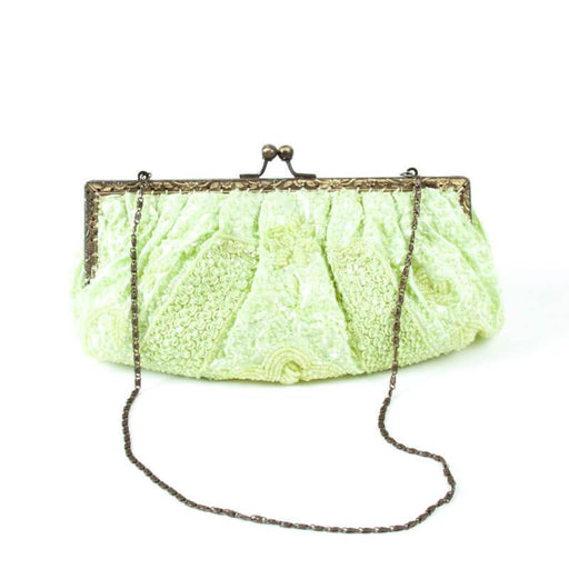 Lime Green Evening Bag. Unique piece of love