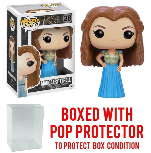 Funko Pop! Game of Thrones: GOT - Margaery Tyrell #38 Vinyl Figure (Bundled with Pop BOX PROTECTOR CASE)