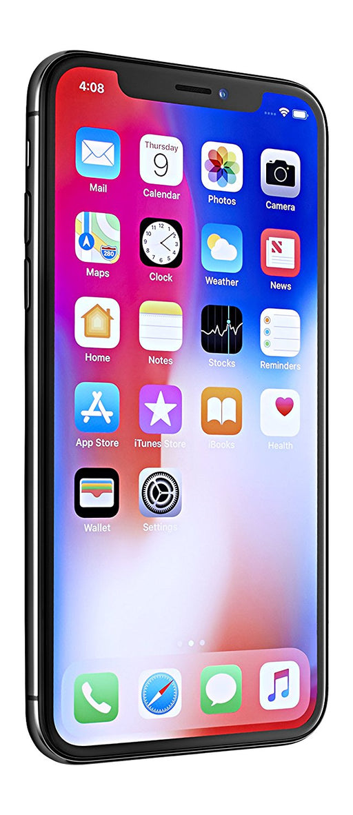 "Apple iPhone X, GSM Unlocked 5.8"", - Space Gray"