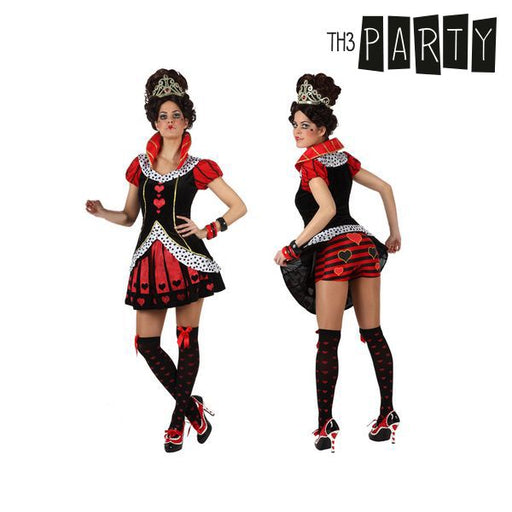 Costume for Adults Th3 Party Queen of hearts Sexy nurse