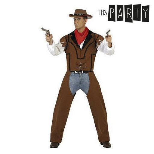 Costume for Adults Th3 Party 22903 Cowboy (OpenBox)