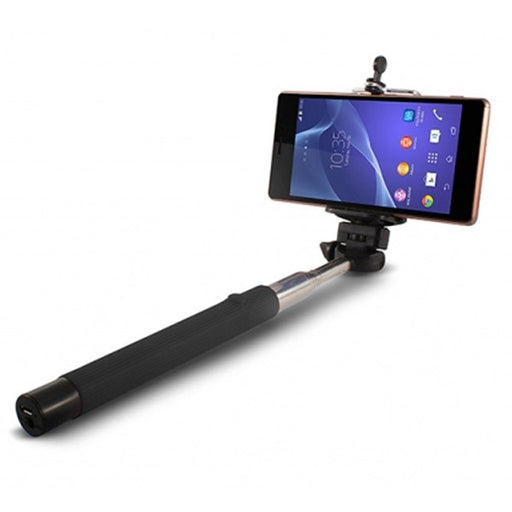 Extendible Bluetooth Selfie Stick KSIX 45 mAh 5 V Black