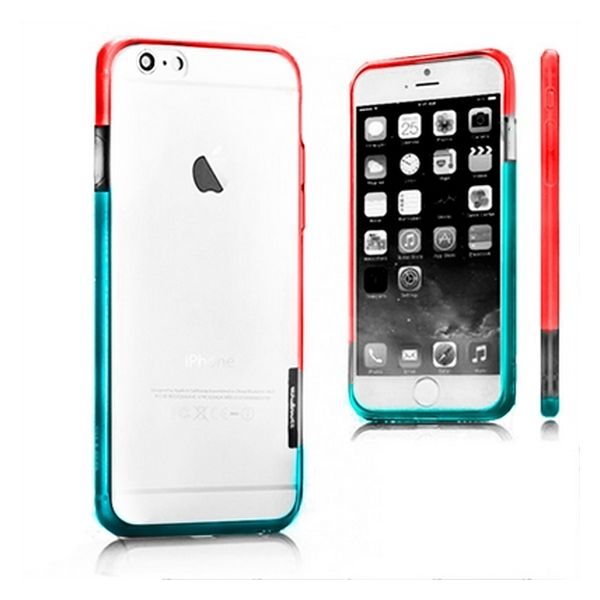 Bicolour Bumper iPhone 6 X-ONE 109956 White Blue