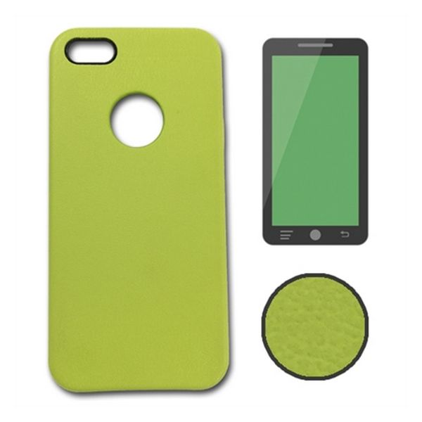Case iPhone 5 / 5S / SE Ref. Leather 119214 Green