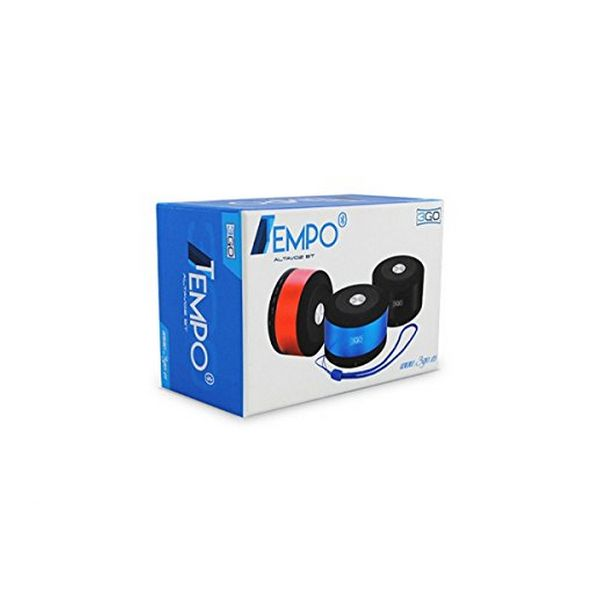 Bluetooth Speakers 3GO Tempo 3W Micro SD Black Red
