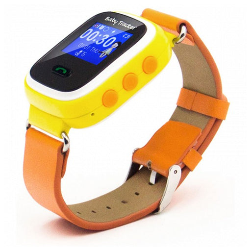 Kids' Smartwatch Overnis 221916 GPS GSM Tracking USB 5 V Orange