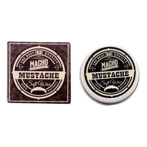Soft Hold Wax Mustache The Macho Beard Company