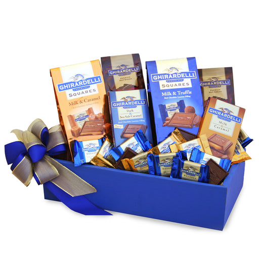 A California Delicious Ghirardelli Party Chocolate Gift Basket