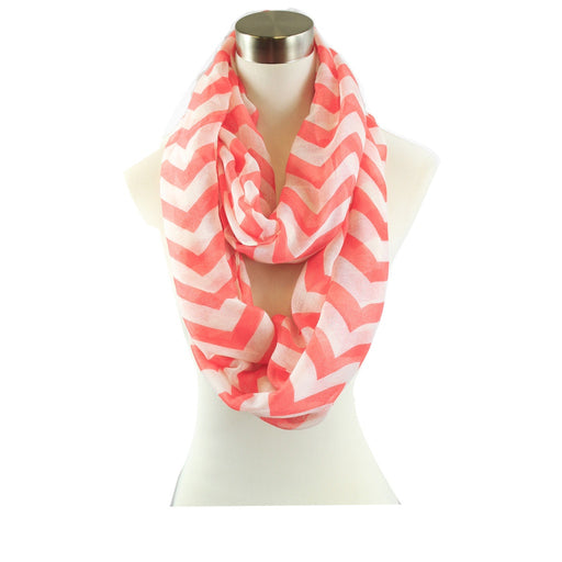 Nautical Chevron Infinity Scarf