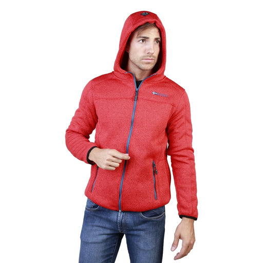 Geographical Norway Men Sweatshirts Red