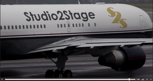 Spectacular VIDEO with a REAL PLANE to PROMOTE your WEB and LOGO